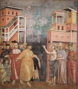 giotto francis renunciation