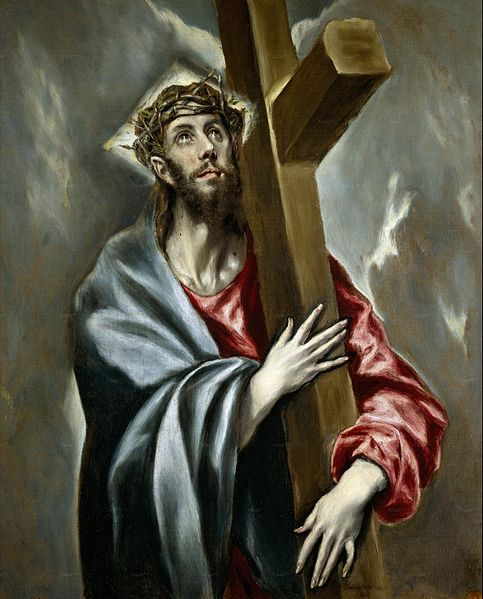 el greco jesus cross