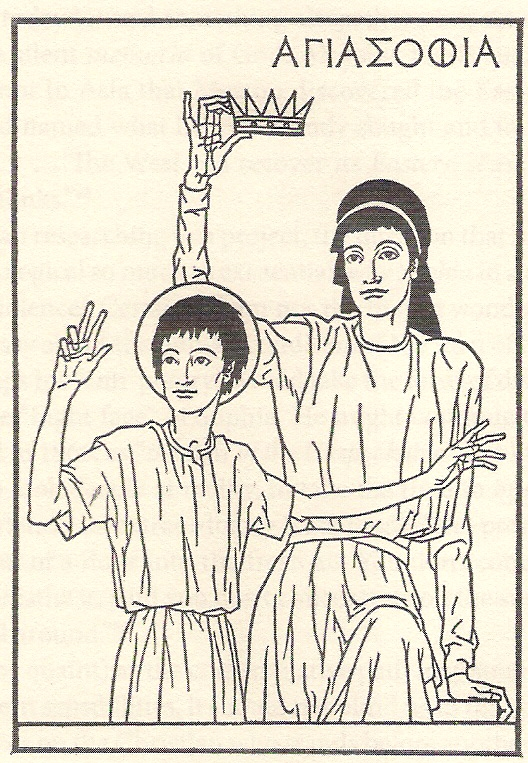 Dom Donald's Blog: 'Hagia Sophia, Holy Wisdom, who crowns Christ' Merton